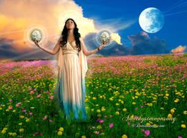 Lunar  Perigee by amethystmoonsong