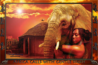 Africa Calls by amethystmoonsong