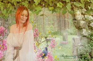 Spring Rain by amethystmoonsong