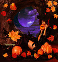 Happy Halloween Wishes 2013 by amethystmoonsong
