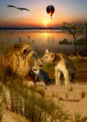 Savanah Sunrise by amethystmoonsong