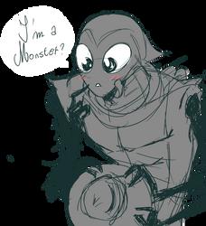 + AMIP Oekaki: I'm a Monster + by Yore-Donatsu