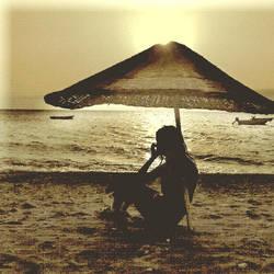 Under My Umbrella by utopic-man