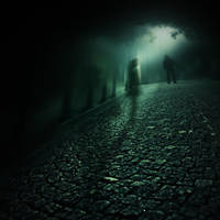 shadows avenue II by utopic-man