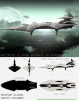 EVE online Accron Cruiser by walcor