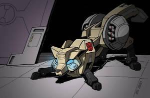 Foxfire, Autobot Saboteur by EmeraldBeacon