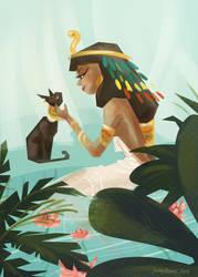 Cleopatra by meghanart