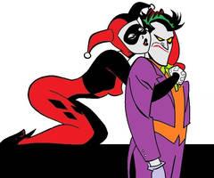 Harley Quinn and the Joker by TheAnimefreak69