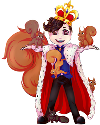King of the Squirrels by RabbitHazard