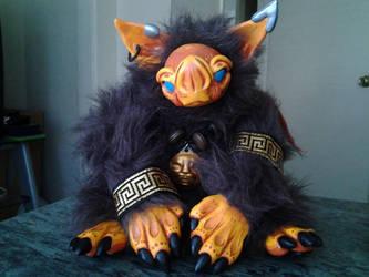 Grylis the Bat Goblin by NerdyNation