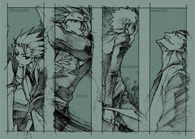 bleach - sketch bookmark for U by pandabaka