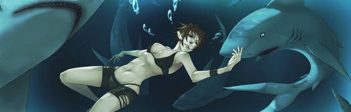 under the sea by pandabaka