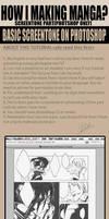 How to basic screentone on PTS by pandabaka