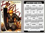 Bleach - calendar card 2013 by pandabaka