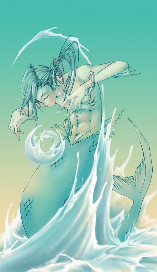 water spirit - color by pandabaka