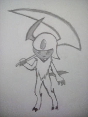 Ixis the Absol by Arc-Fire