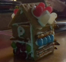 Pokemon Center Gingerbread House by Arc-Fire