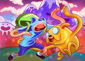 Adventure Time by eldeivi