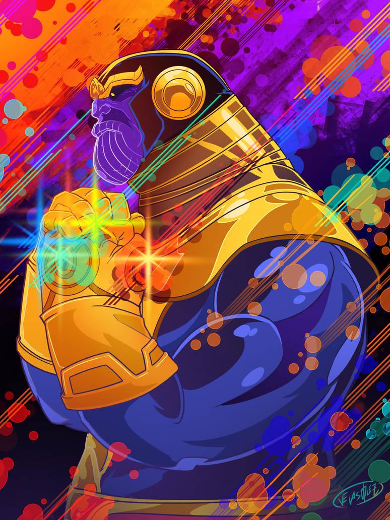 The Mad Titan by eldeivi