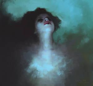 Lacrima Cuore Nero by L-E-N-T-E-S-C-U-R-A