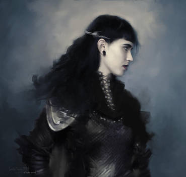 Regina Sole Nero by L-E-N-T-E-S-C-U-R-A