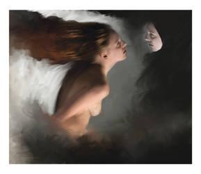 Volando di Nuovo Sulla Luna by L-E-N-T-E-S-C-U-R-A
