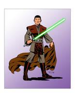 Vulcan Jedi by fredmast