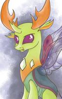 King Bug Watercolour by dSana