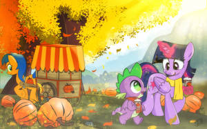 [Commission] The First Taste of Autumn by dSana