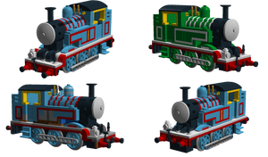 LDD Creations - Thomas the Tank Engine by The-Scarved-Whovian