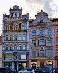 House by the Red Heart - Prague - Czechia by hotzone1492