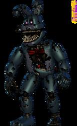 [Blender Internal] Nightmare Bonnie by AustinTheBear