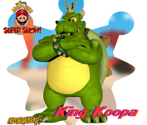 [Blender Internal] King Koopa by AustinTheBear