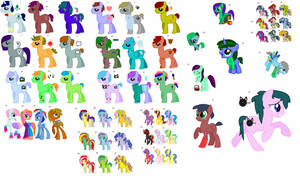 HUGE FREE PONY ADOPT! *CLOSED* by stevegirl124