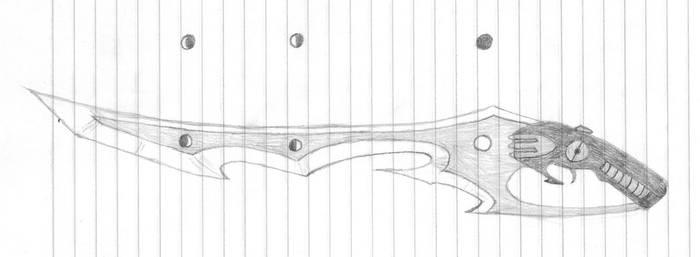 Ayame's Gunblade by Kaoshin
