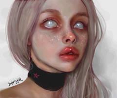 yana kryukova (instagram) portrait by morgyuk