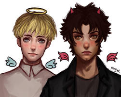 Devilman Crybaby (old fan art) by morgyuk