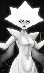 WHITE DIAMOND by morgyuk