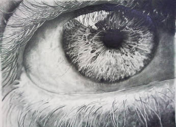 Eye study 1 by JonoDry