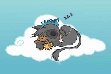 Baby Gryph0n by gwennie-chan