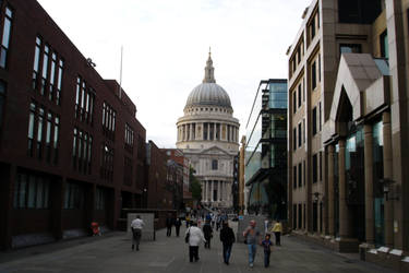 St. Paul's Cathedral by lokifan123