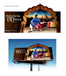 Borjan EID Hoarding by creavity