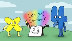 Lets get CREATIVE! by HappyBuddyy