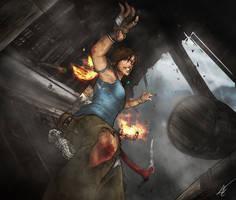 Tomb Raider (2013) by Scribbletati