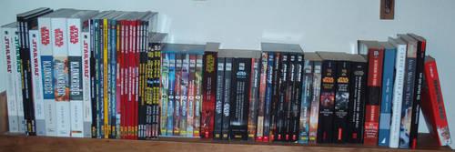 SW Sammlung: Buecher Comics by MADBlacklord