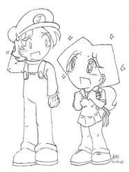 Jim and Mandy by mandy-kun