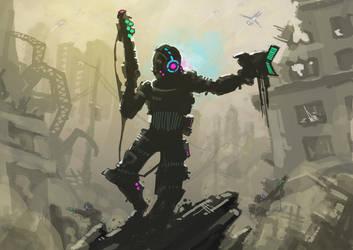 Quickpaint Soldier by ArkadeBurt