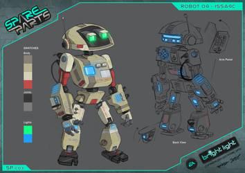 Spare Parts - Issa4c  Concept by ArkadeBurt