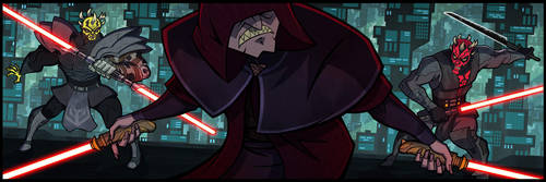 Battle of the Sith by ArkadeBurt