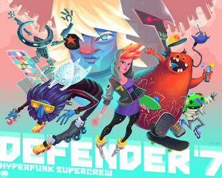 Defender 7 by ArkadeBurt
